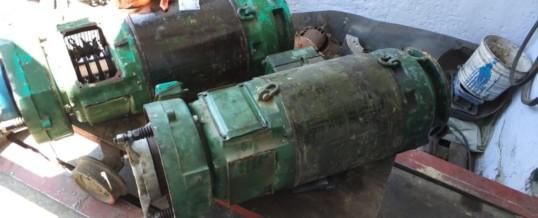 Ремонт кранового электродвигателя с фазным ротором 37 кВт 1500 об/мин