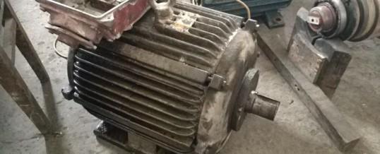 Электродвигатель 4А200L2 37 кВт после ремонта