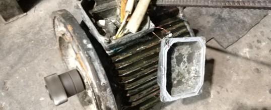 Ремонт кранового электродвигателя хода 4АМС132S6У2 6,3 кВт