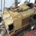 Ремонт электродвигателя постоянного тока JB6316-92 мощностью 185 кВт