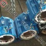 Ремонт электродвигателей АИР132М6 7,5 кВт и АИР160S6 11 кВт