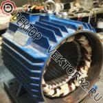 Перемотка статоров импортных электродвигателей 5,5 кВт и 4 кВт