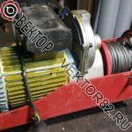 Ремонт и перемотка электродвигателя тельфера